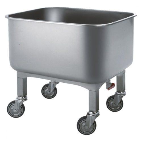 Waschwagen mit Ablasshahn, 130 Liter - Virtus - Gastroworld-24
