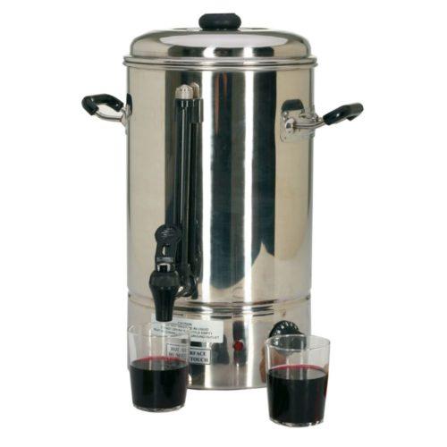 Wasserboiler elektrisch, 335x335x415mm, 2000W, 230V, 50 Hz, - GGG - Gastroworld-24