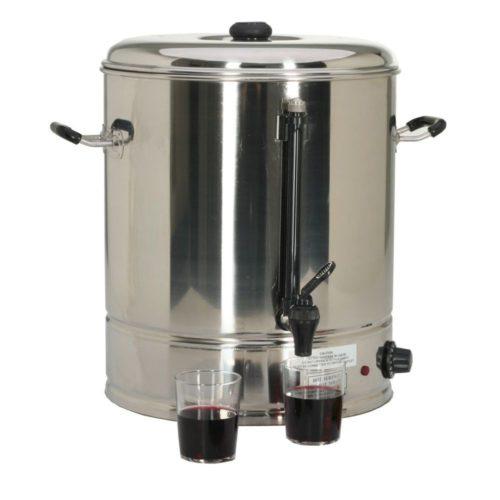 Wasserboiler elektrisch, 465x460x440mm, 3000W, 230V, - GGG - Gastroworld-24