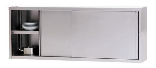 WHS 100/4 Wandhängeschrank mit Schiebetüre - Produkt - Gastrowold-24 - Ihr Onlineshop für Gastronomiebedarf