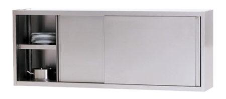 WHS 120/4 Wandhängeschrank m Schiebetüre - Produkt - Gastrowold-24 - Ihr Onlineshop für Gastronomiebedarf