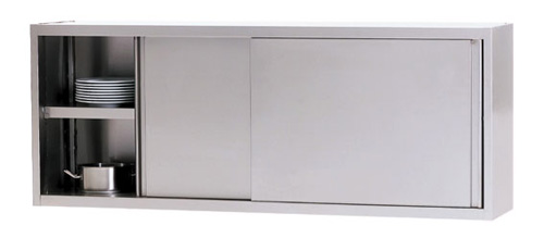 WHS 160/4 Wandhängeschrank mit Schiebetüre - Produkt - Gastrowold-24 - Ihr Onlineshop für Gastronomiebedarf