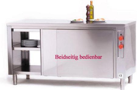 WSB 160/7 Wärmeschrank mit 4 Schiebetüren - Produkt - Gastrowold-24 - Ihr Onlineshop für Gastronomiebedarf